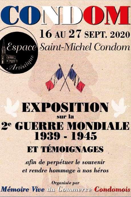 """EXPOSITION ARTS ET RENCONTRES : """"MÉMOIRES VIVE DE LA GUERRE DE 40"""" À L'ESPACE SAINT MICHEL"""