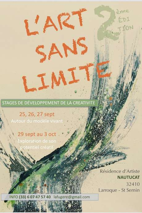 STAGE : L'ART SANS LIMITE, 2ÈME EDITION