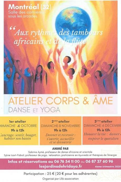 ATELIER CORPS & AME : DANSE ET YOGA