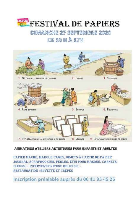 FESTIVAL DE PAPIERS/ ANNULÉ/