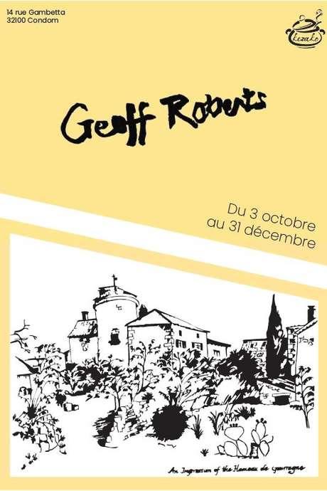 GEOFF ROBERTS EXPOSE AU RESTAURANT LE KEZAKO