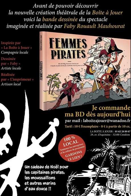 """BD """"FEMMES PIRATES"""" DE LA BOÎTE À JOUER"""