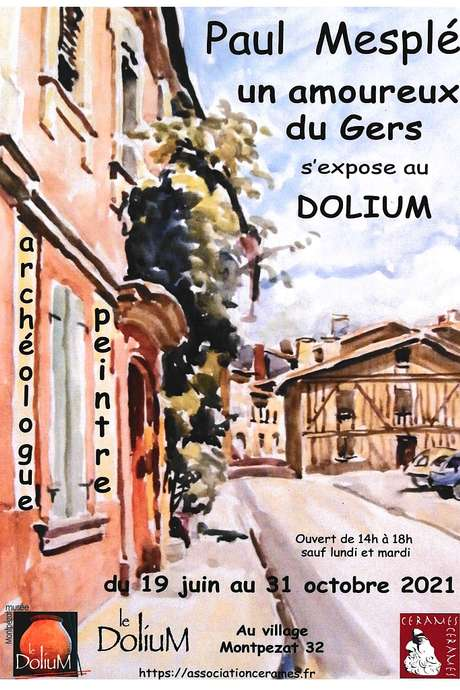 EXPOSITION PAUL MESPLÉ AU CENTRE D'EXPOSITION : LE DOLIUM