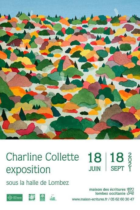 EXPOSITION  CHARLINE COLLETTE AUTRICE ILLUSTRATRICE