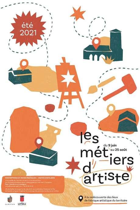 PARCOURS DE VISITE D'ATELIERS #2 « LA MATIÈRE »