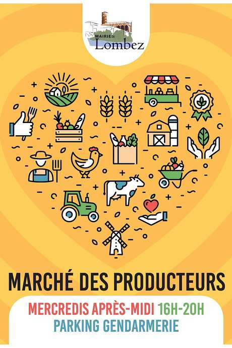 MARCHÉ DE PRODUCTEURS