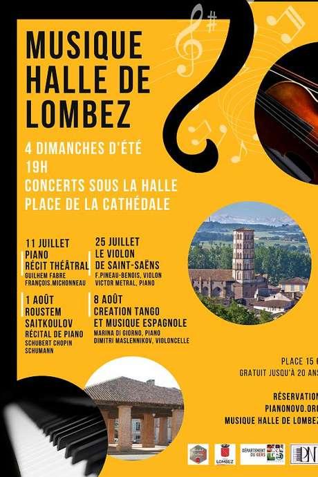 CONCERT SOUS LA HALLE DE LOMBEZ