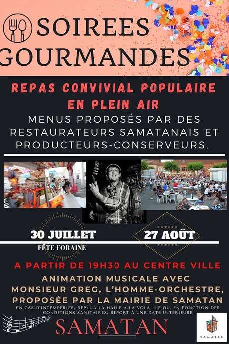 SOIRÉE GOURMANDE