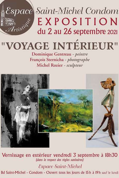 """ARTS ET RENCONTRE : """"VOYAGE INTÉRIEUR"""" A L'ESPACE SAINT-MICHEL"""
