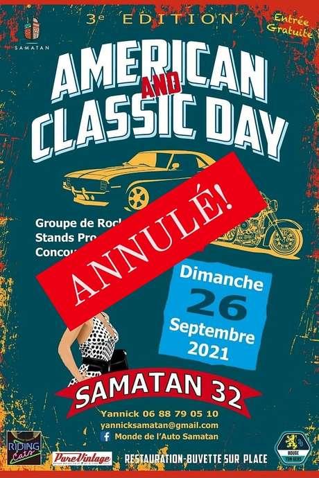 ANNULÉ// AMERICAN CLASSIC DAY