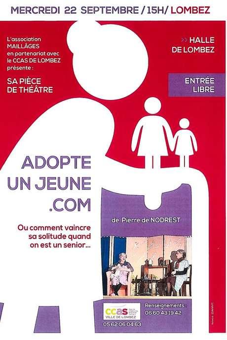 THÉATRE : ADOPTE UN JEUNE.COM