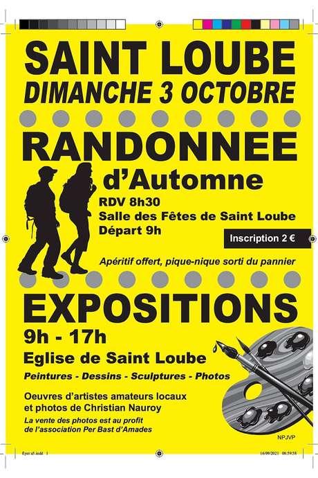 RANDONNÉE D'AUTOMNE ET EXPOSITION