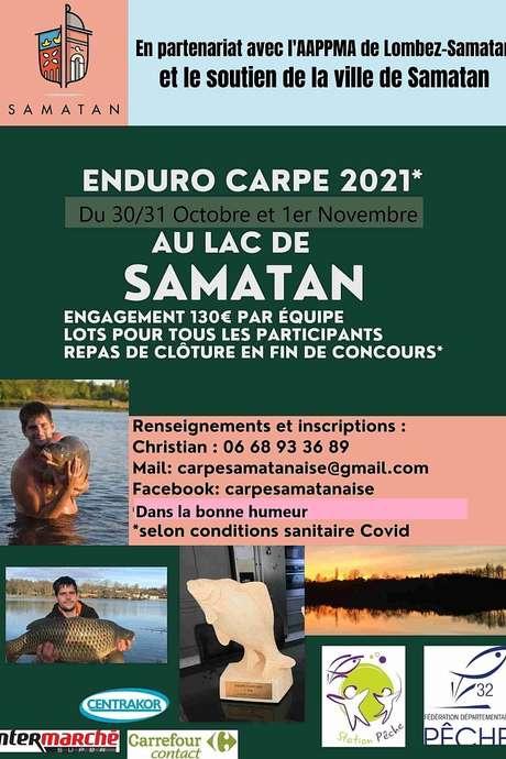 ENDURO CARPE  AU LAC DE SAMATAN