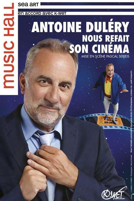 """Spectacle du CALICOT : """"Antoine Duléry nous refait son cinéma"""""""