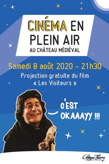 """Cinéma en PLEIN AIR : """"Les Visiteurs"""""""