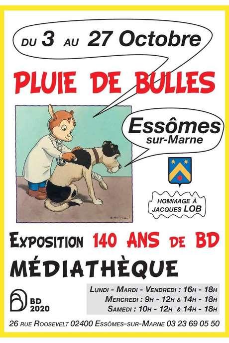 """EXPOSITION : """"Pluie de Bulles"""" de Noël Coret"""