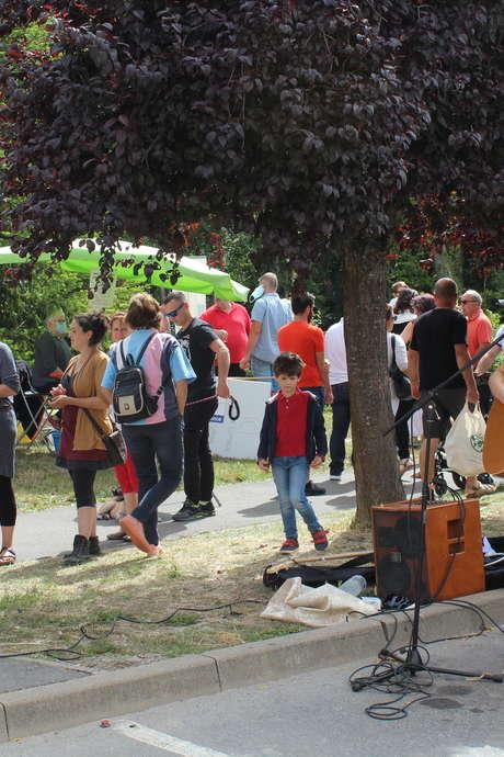 Marché de producteurs locaux à Condé-en-Brie