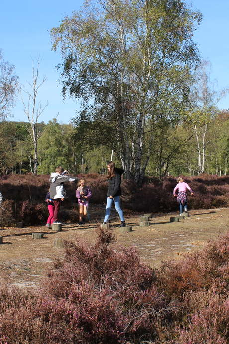 Rallye nature dans les bruyères