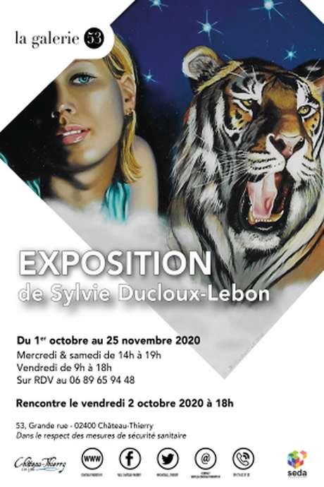 Exposition : Sylvie Decloux Lebon