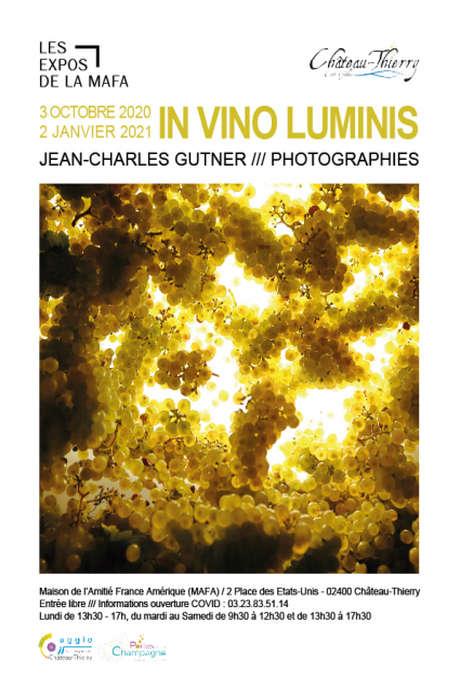 "Exposition à la MAFA ""In Vino Luminis"" de Jean-Charles Gutner"