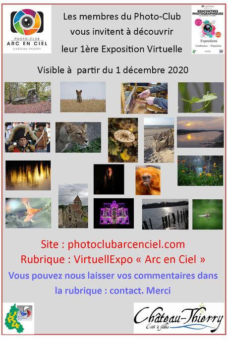 L'exposition virturelle du Photo club Arc-en-ciel