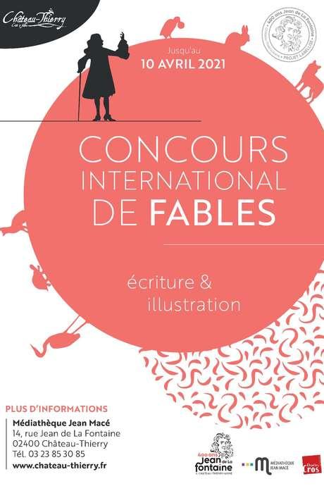 Concours international de fables 2021 de la ville de Château-Thierry