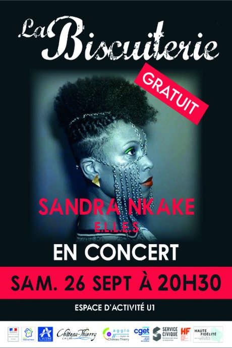 Concert : Sandra Nkaké