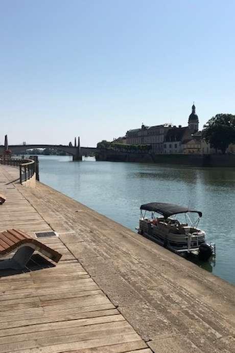 Laissez-vous conter Chalon depuis la Saône