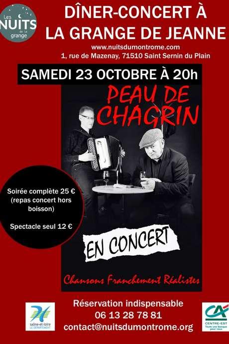 Dîner-concert PEAU DE CHAGRIN