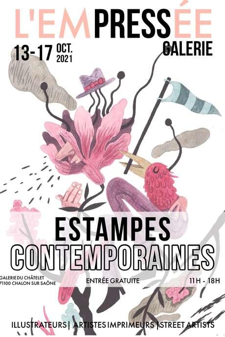 """Exposition """"Estampe Contemporaine """""""