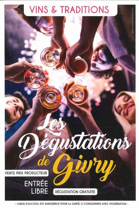 LES DÉGUSTATIONS DE GIVRY