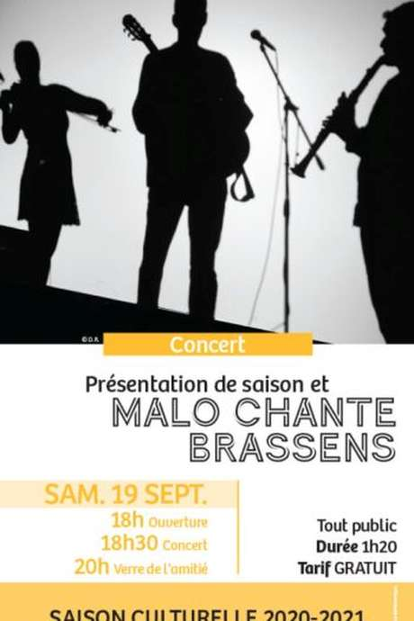 Concert Malo chante Brassens