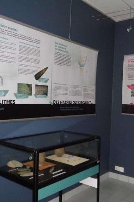 Visite Maison de l'Archéologie et Site Quelfenec