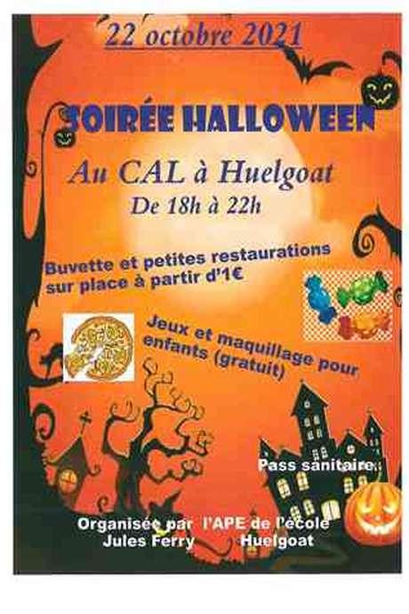 Soirée Halloween à Huelgoat