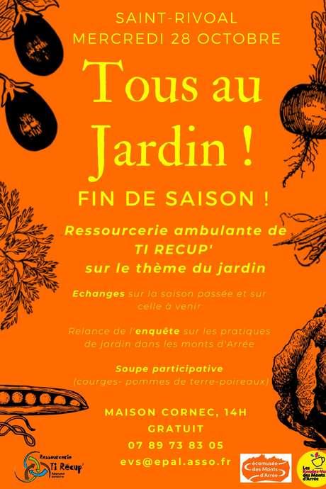 Les Rendez-vous des Monts d'Arrée : Tous au jardin, fin de saison !