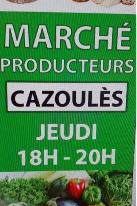 Marché de producteurs de Cazoulès