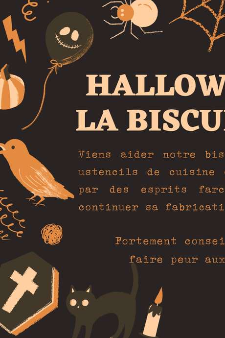 Animations Halloween à la Biscuiterie Lou Cocal