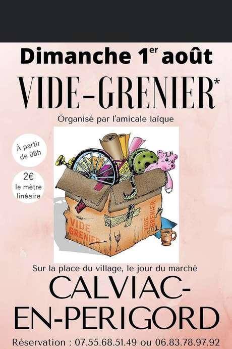 Vide-grenier à Calviac-en-Périgord