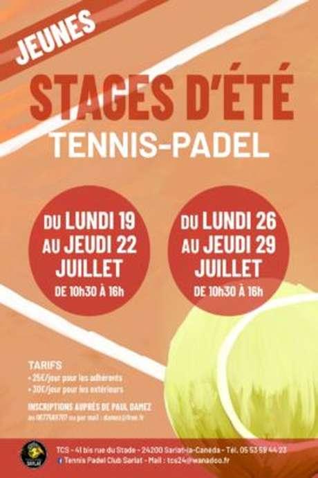 Stage d'été de Tennis-padel