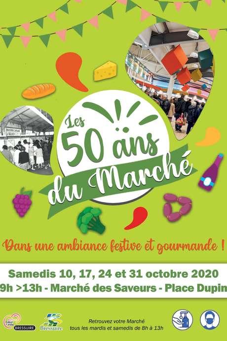 Le marché des saveurs fêtes ses 50 ans !