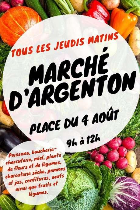 Marché d'Argenton-Les-Vallées