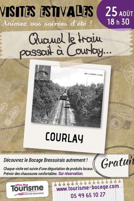 """Visites Estivales 2021 - """"Quand le train passait à Courlay"""""""