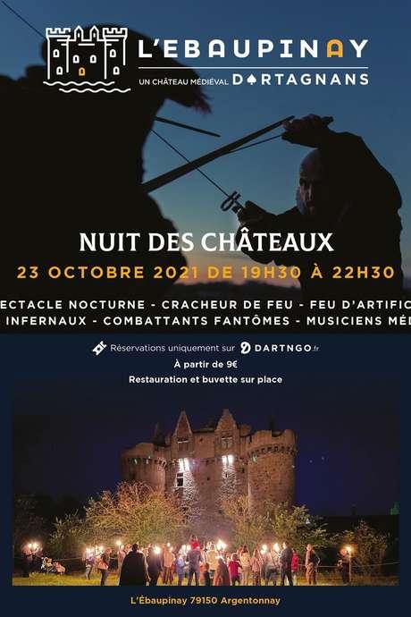 Château Fort de L'Ebaupinay - Nuit des châteaux