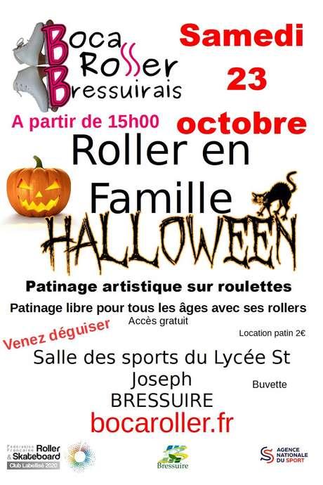 Roller en famille spécial Halloween