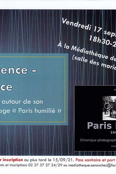 """Conférence-dédicace """" paris humilié """" de Mr Albert Hude"""