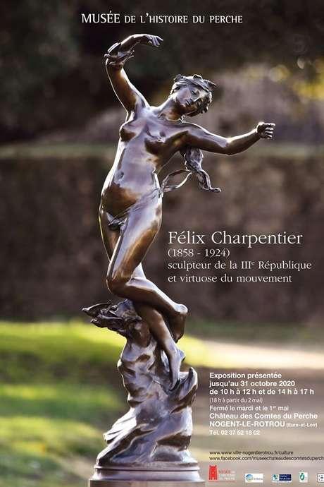 Exposition des oeuvres de Félix Charpentier