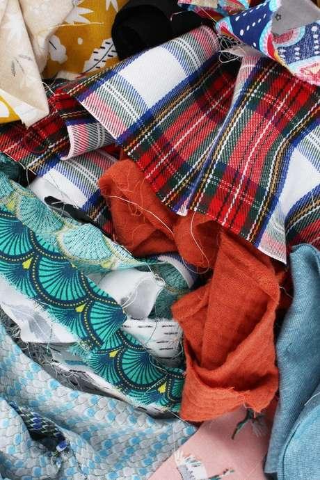Des vêtements en pagaille
