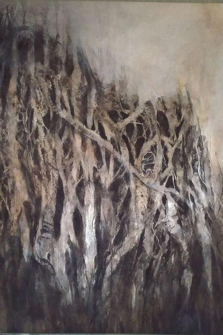 Exposition de peintures d'Isabelle Vialle