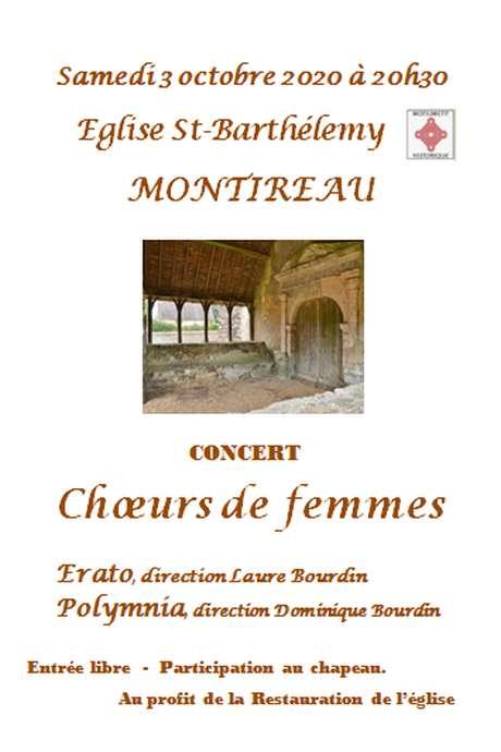 Concert Coeur de femmes