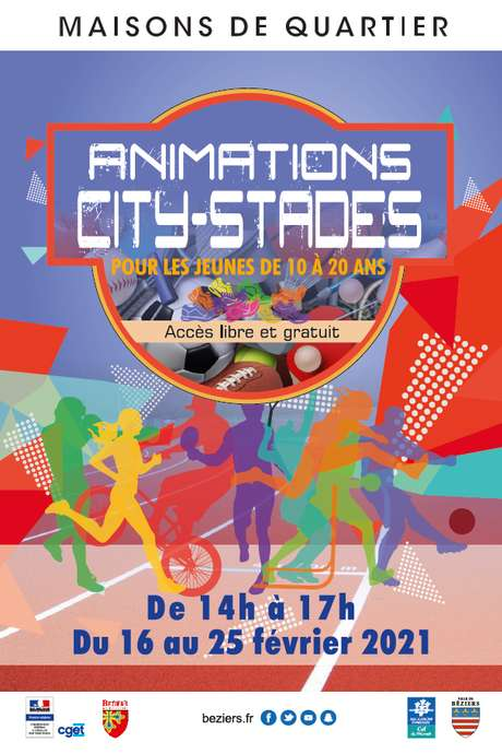 ANIMATIONS SPORTIVES AU CITY STADE MARILLAC - DOUBLE DUTCH ET FOOTBALL